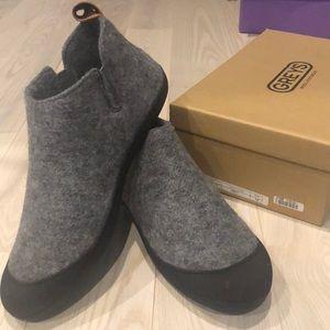 Greys Slipper Boots
